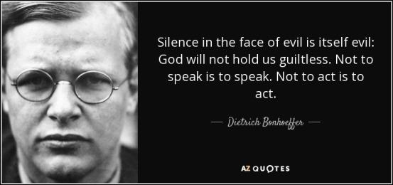 Silence evil
